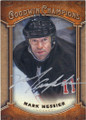 MARK MESSIER AUTOGRAPHED HOCKEY CARD #112014E