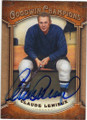 CLAUDE LEMIEUX AUTOGRAPHED HOCKEY CARD #112114F