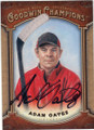 ADAM OATES AUTOGRAPHED HOCKEY CARD #112214G