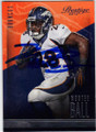 MONTEE BALL DENVER BRONCOS AUTOGRAPHED FOOTBALL CARD #112314L
