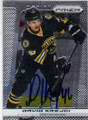 DAVID KREJCI BOSTON BRUINS AUTOGRAPHED HOCKEY CARD #112314P
