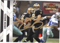 DREW BREES NEW ORLEANS SAINTS AUTOGRAPHED FOOTBALL CARD #112414A