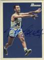 BOB COUSY BOSTON CELTICS AUTOGRAPHED BASKETBALL CARD #112414C