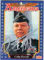 COLIN POWELL RETIRED FOUR-STAR GENERAL AUTOGRAPHED CARD #112414D