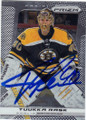 TUUKKA RASK BOSTON BRUINS AUTOGRAPHED HOCKEY CARD #112414E