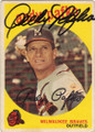 ANDY PAFKO MILWAUKEE BRAVES AUTOGRAPHED VINTAGE BASEBALL CARD #112414G