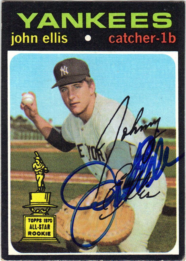 John Ellis Baseball John Ellis New York Yankees