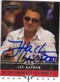 JOE HACHEM WORLD SERIES OF POKER AUTOGRAPHED POKER CARD #112514H