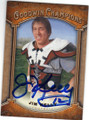JIM KELLY UNIVERSITY OF MIAMI AUTOGRAPHED FOOTBALL CARD #112614G