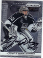JONATHAN QUICK LOS ANGELES KINGS AUTOGRAPHED HOCKEY CARD #120214M