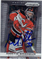 MARTIN BRODEUR NEW JERSEY DEVILS AUTOGRAPHED HOCKEY CARD #120214U
