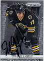 MILAN LUCIC BOSTON BRUINS AUTOGRAPHED HOCKEY CARD #120414B