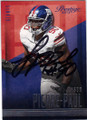 JASON PIERRE-PAUL NEW YORK GIANTS AUTOGRAPHED FOOTBALL CARD #120514G