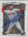 NOMAR GARCIAPARRA BOSTON RED SOX AUTOGRAPHED BASEBALL CARD #120514M