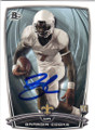 BRANDIN COOKS NEW ORLEANS SAINTS AUTOGRAPHED ROOKIE FOOTBALL CARD #120714C