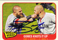 JONNY GOMES BOSTON RED SOX AUTOGRAPHED BASEBALL CARD #120714F
