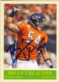 BRIAN URLACHER CHICAGO BEARS AUTOGRAPHED FOOTBALL CARD #120714G