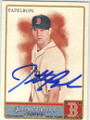 JONATHAN PAPELBON BOSTON RED SOX AUTOGRAPHED BASEBALL CARD #120714H