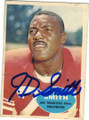 JD SMITH SAN FRANCISCO 49ers AUTOGRAPHED VINTAGE ROOKIE FOOTBALL CARD #120814i