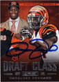 DARQUEZE DENNARD CINCINNATI BENGALS AUTOGRAPHED ROOKIE FOOTBALL CARD #120814K