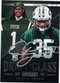 CALVIN PRYOR NEW YORK JETS AUTOGRAPHED ROOKIE FOOTBALL CARD #120814N