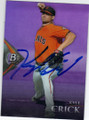 KYLE CRICK SAN FRANCISCO GIANTS AUTOGRAPHED ROOKIE BASEBALL CARD #121014B