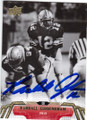 RANDALL CUNNINGHAM UNLV REBELS AUTOGRAPHED FOOTBALL CARD #121014J