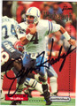 JIM HARBAUGH INDIANAPOLIS COLTS AUTOGRAPHED FOOTBALL CARD #121114B