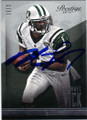 MICHAEL VICK NEW YORK JETS AUTOGRAPHED FOOTBALL CARD #121314G