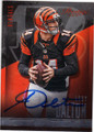 ANDY DALTON CINCINNATI BENGALS AUTOGRAPHED FOOTBALL CARD #121314i