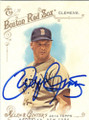 ROGER CLEMENS BOSTON RED SOX AUTOGRAPHED BASEBALL CARD #121514N
