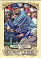 JAMES SHIELDS KANSAS CITY ROYALS AUTOGRAPHED BASEBALL CARD #121514P