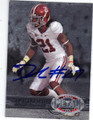 DRE KIRKPATRICK ALABAMA CRIMSON TIDE AUTOGRAPHED FOOTBALL CARD #121614G