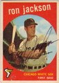 RON JACKSON CHICAGO WHITE SOX AUTOGRAPHED VINTAGE BASEBALL CARD #121814F