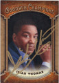ISIAH THOMAS INDIANA HOOSIERS AUTOGRAPHED BASKETBALL CARD #122914i