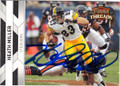 HEATH MILLER PITTSBURGH STEELERS AUTOGRAPHED FOOTBALL CARD #10215E