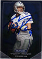 TONY ROMO DALLAS COWBOYS AUTOGRAPHED FOOTBALL CARD #10515D