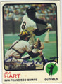 JIM HART SAN FRANCISCO GIANTS AUTOGRAPHED VINTAGE BASEBALL CARD #10515G