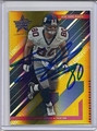 JEREMY SHOCKEY NEW YORK GIANTS AUTOGRAPHED & NUMBERED FOOTBALL CARD #10815C