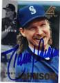 RANDY JOHNSON SEATTLE MARINERS AUTOGRAPHED BASEBALL CARD #10915E