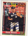 CRAIG BIGGIO HOUSTON ASTROS AUTOGRAPHED BASEBALL CARD #10915F
