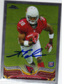 ANDRE ELLINGTON ARIZONA CARDINALS AUTOGRAPHED ROOKIE FOOTBALL CARD #10915G