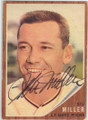 STU MILLER SAN FRANCISCO GIANTS AUTOGRAPHED VINTAGE BASEBALL CARD #11015A