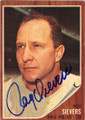 ROY SIEVERS PHILADELPHIA PHILLIES AUTOGRAPHED VINTAGE BASEBALL CARD #11315D