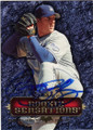 CHAD BILLINGSLEY LOS ANGELES DODGERS AUTOGRAPHED BASEBALL CARD #11515B