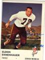 ELDON DANENHAUER DENVER BRONCOS AUTOGRAPHED VINTAGE FOOTBALL CARD #11515i