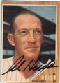 AL HEIST HOUSTON COLTS AUTOGRAPHED VINTAGE BASEBALL CARD #11515K