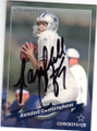 RANDALL CUNNINGHAM DALLAS COWBOYS AUTOGRAPHED FOOTBALL CARD #11915i