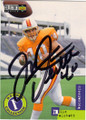 MIKE ALSTOTT TAMPA BAY BUCCANEERS AUTOGRAPHED ROOKIE FOOTBALL CARD #11915L