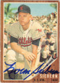 NORM SIEBERN KANSAS CITY ATHLETICS AUTOGRAPHED VINTAGE BASEBALL CARD #12015F